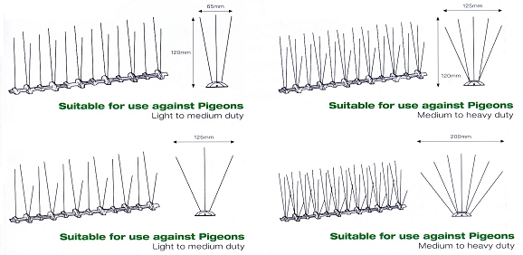 Pigeon Spike System